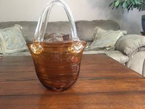 Murano Style Glass Purse Vase in Fort Campbell, Kentucky