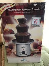 Chocolate Fountain in Ramstein, Germany