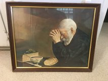 Man Praying over Bread Picture in Fort Campbell, Kentucky