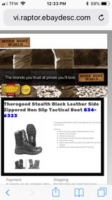 Men's Thorogood Work boots in Fort Campbell, Kentucky