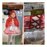 Little red riding hood costume 12-24m in Watertown, New York