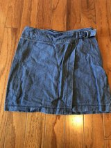 CLEARANCE ***NEW HOLLISTER Wrap Around Denim Skirt***SZ S in Cleveland, Texas