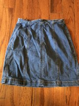 CLEARANCE ***NEW KENDAL & Kylie Denim Skirt***SZ 24 in Cleveland, Texas