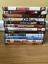 Selection of DVDS in Camp Lejeune, North Carolina