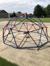 Lifetime Geometric Dome Climber Jungle Gym in Glendale Heights, Illinois