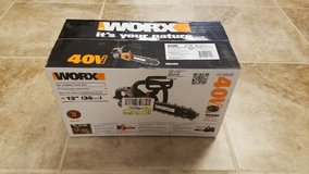 Worx Electric Chainsaw in Camp Lejeune, North Carolina