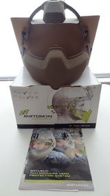 ACH-compatible Batlskin Modular Head Protection (Size Medium) Tan Color in Fort Leonard Wood, Missouri