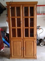 Solid wood hutch in St. Charles, Illinois