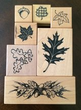 Fall Leaf Stamps in Fort Knox, Kentucky