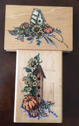 Fall Birdhouse Stamps in Fort Knox, Kentucky