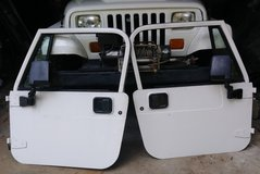 94 Jeep Wrangler solid metal doors with manual roll-up windows in Tifton, Georgia