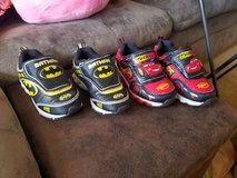 Boys size 9 toddler light up shoes**like new** in Fort Riley, Kansas