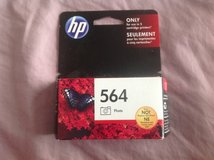 NIB HP black ink cartridge 564 in Chicago, Illinois