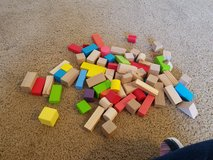 70 Wooden building blocks in Fort Riley, Kansas