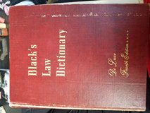 Black's Law Dictionary De Luxe 4th Edition in Fort Polk, Louisiana