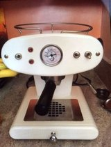 Francis Francis X1 espresso machine made in Italy in Chicago, Illinois