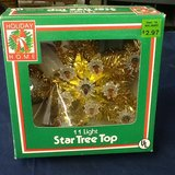 Vintage star for Christmas tree in Clarksville, Tennessee