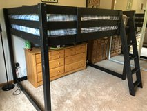 loft bed for full size mattress in Chicago, Illinois