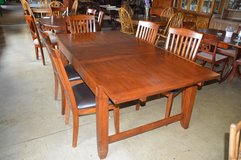 Table Leaf and 6 chairs BY Ashley in Fort Lewis, Washington