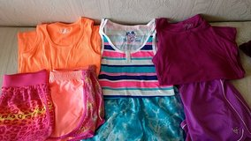Lot of Girls Athletic Shorts and Tank Tops in Chicago, Illinois