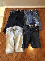 CLEARANCE ***4 PAIR ABERCROMBIE & Fitch Jeans ****SZ 16 in Kingwood, Texas
