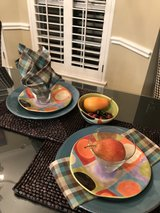2 Pottery Place Settings-More Staging Items for Kitchen in The Woodlands, Texas
