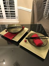 2 Contemporary Place Settings---More Staging Items for Kitchen Counter or Table in The Woodlands, Texas