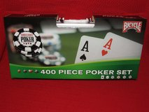 Bicycle World Series of Poker 400 PiecePoker Chip Set ~ New in Westmont, Illinois