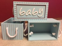Baby storage boxes in Glendale Heights, Illinois