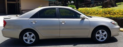 2002 Toyota Camry. SE in Kaneohe Bay, Hawaii