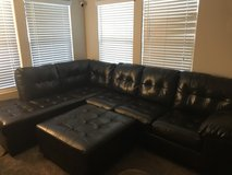 Ashley leather sectional in Las Vegas, Nevada