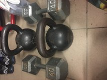Dumbbells and Kettle Bells in Vicenza, Italy