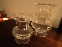 Set of two glass vases in Kingwood, Texas