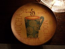 Plate w/ Wooden stand in Kingwood, Texas