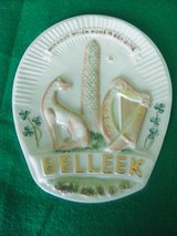 1979 Belleek Collecters Society Special Edition of Belleek Trade Mark Plaque in Chicago, Illinois
