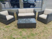 Wicker Patio Furniture in Camp Pendleton, California