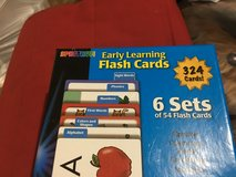 Reading instruction flashcards in Clarksville, Tennessee