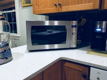 Microwave  Panasonic - 2.2 Cu. Ft. Full-Size Microwave - Stainless steel in Cherry Point, North Carolina