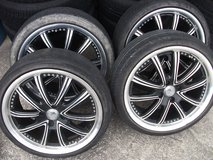 17inch rims and tires set(3) in Okinawa, Japan
