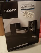 BRAND NEW SONY HOME AUDIO SYSTEM WITH BLUETOOTH in Okinawa, Japan