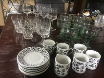 Glasses, espresso cups and saucers, goblets in Stuttgart, GE