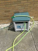 "75' FLEXZILLA 5/8"" ID PREMIUM GARDEN HOSE AND REEL in Shorewood, Illinois"