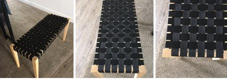 Bench Weaved New in Shorewood, Illinois
