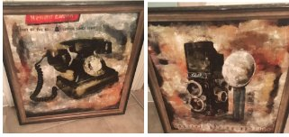 Pictures of Antique phone and Camera in Shorewood, Illinois