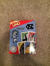 Uno card gam. Tarheel style in Wilmington, North Carolina