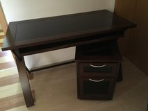 Desk and stand, in Mannheim, GE