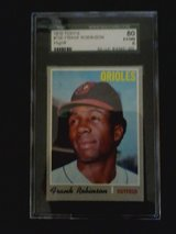1970 topps frank robinson graded baseball card in Perry, Georgia