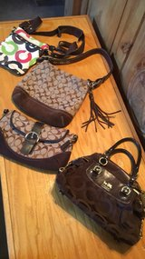 coach purses in Spring, Texas
