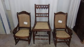 Chair caning in Spring, Texas