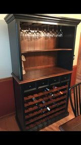 *2 Piece Hutch/Wine Rack in Shorewood, Illinois